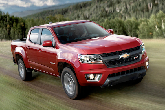 2015 Chevrolet Colorado, A First Look