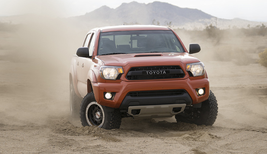 Toyota off-road TRD Pro Package.
