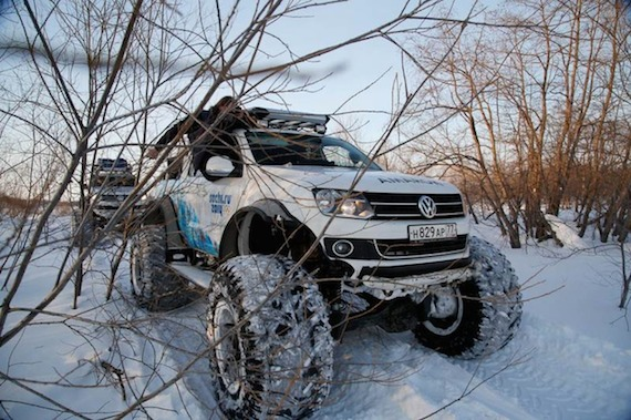 Volkswagon, Polar expedition Amarok