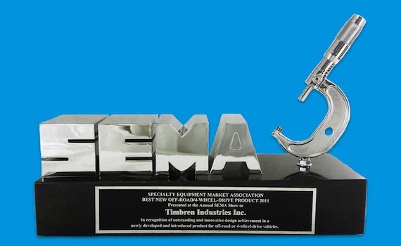 SEMA Award for Best New Off-Road Product of The Year