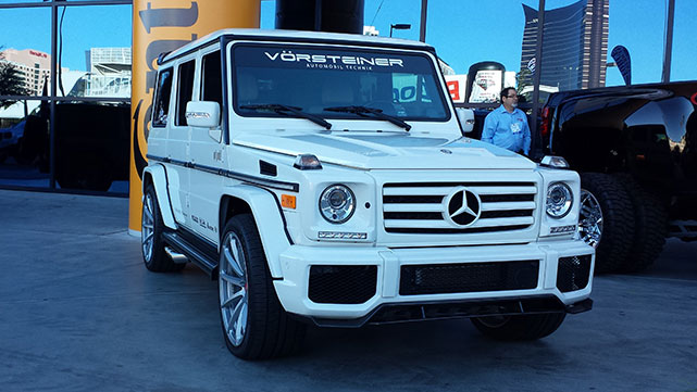 Mercedes G-Wagon at the 2014 SEMA show