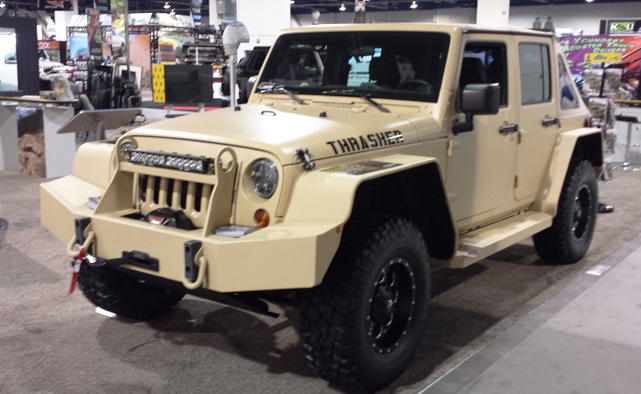 Military Spec Jeep Wrangler JK at SEMA
