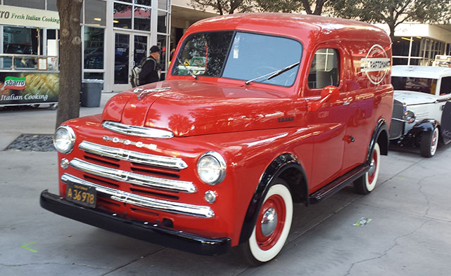 retro Dodge at SEMA 2014