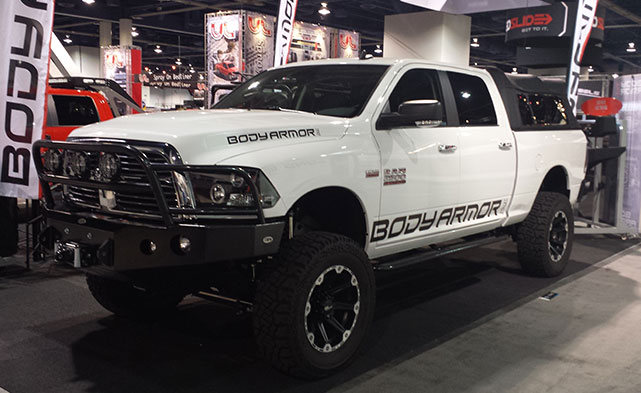 RAM Trucks at SEMA