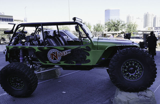 Jeep flexin at SEMA