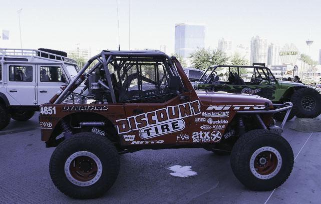 Discount Tire Jeep at SEMA