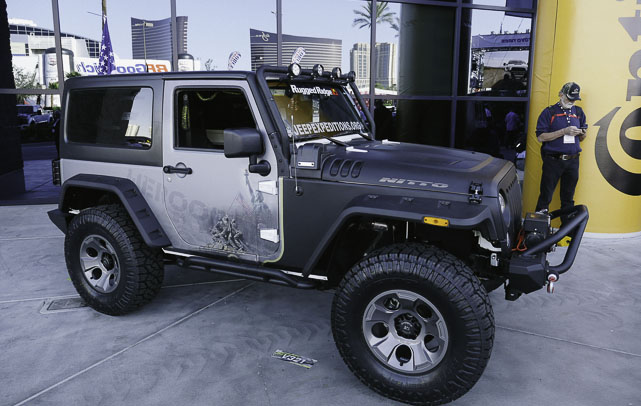 Jeep Wrangler JK at SEMA by Rugged Ridge