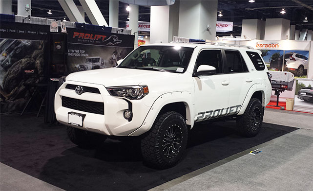 Toyota 4Runner at SEMA