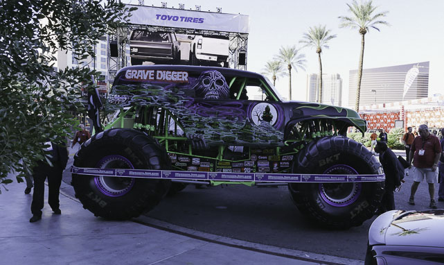 More monster truck goodness at SEMA