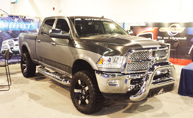 Ram Trucks are awesome at SEMA