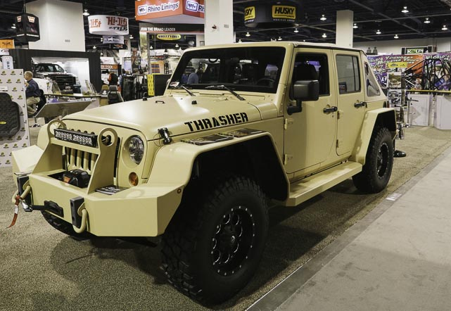 Thrasher Jeep at SEMA 2014
