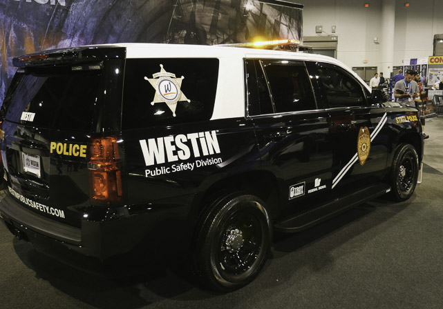 Westin Automotive SUV at SEMA
