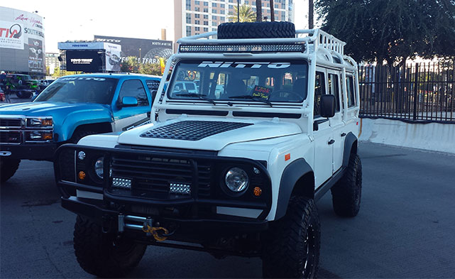Land Rover Defender at SEMA