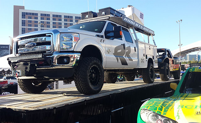 Another Ford Truck at the SEMA show