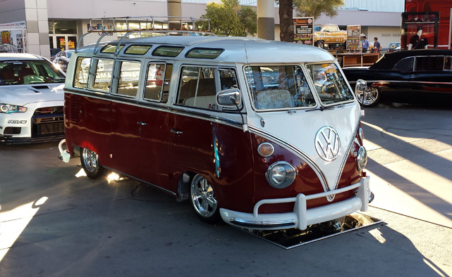 Volkswagen Bus at SEMA