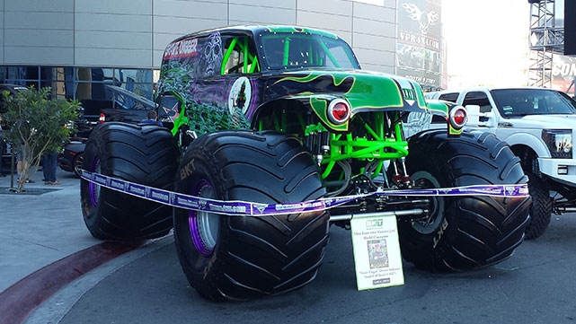 Monster truck at the 2014 SEMA show