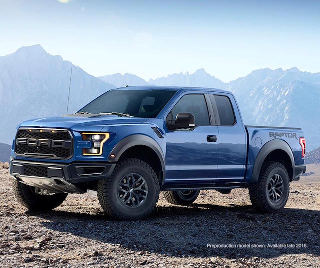 The New 2016 Ford Raptor