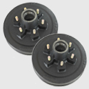 500931 6000lbs Electric Brake hubs for Axle-Less Trailer suspension