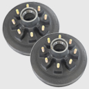 501032 7000lbs Electric Brake Hub For Axle-Less trailer suspension