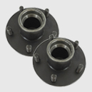 Hub for Axle-Less trailer suspension