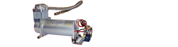 Air Compressor in air supply and control kit for Timbren