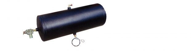 air reservoir tank included in air supply and control kit for Timbren industries Dakota Air and STi trailer suspensions